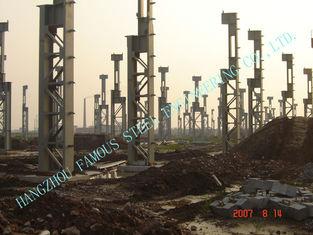 China Cement Plants ASTM Steel Framed Buildings , prefab steel buildings supplier