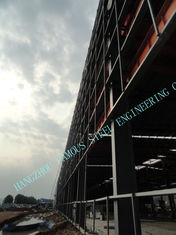 China Grade A572 / A36 90 X110 ASTM Industrial Steel Buildings Concrete Plants supplier