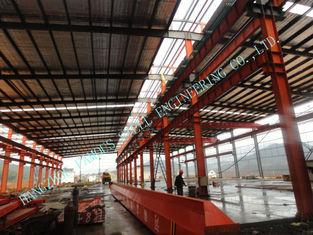 China Garments ASTM Steel Framed Buildings , Prefab 82 X 100 Light Industrial Steel Workshop supplier