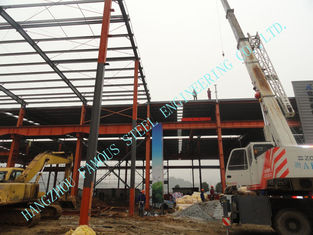 China W Prefabricated ASTM Industrial Steel Buildings 80' X 96' Light Weight supplier