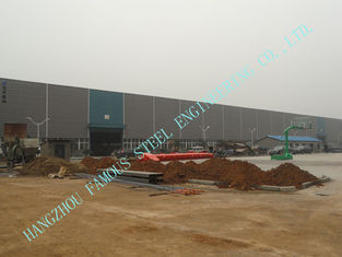 China A36 Grade Prefab Steel Buildings ASTM 83' X 92' with H section Beams supplier