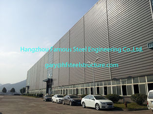 China Prefabricated Structural Steel Buildings ASTM A36 Carbon Steel supplier