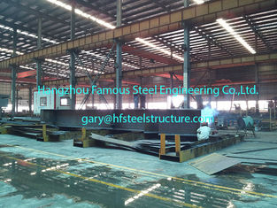 China Prefabricated Commercial Structural Steel Buildings For Hangars Size 60 X 80 supplier