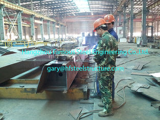 China High Strength Bolted Commercial Steel Buildings ASTM A36 supplier