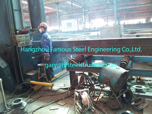 China H Shape Columns Structural Industrial Steel Buildings S355JRC / ASTM A572 Grade 50 supplier