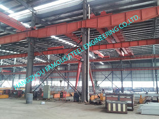China Metal Customized Prefab Industrial Steel Buildings Easy Erection With C Purlins supplier