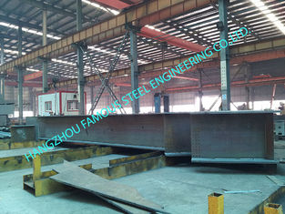 China Metal Industrial Wide Clearspan Shelters Preengineered AISC 80 X 110 supplier
