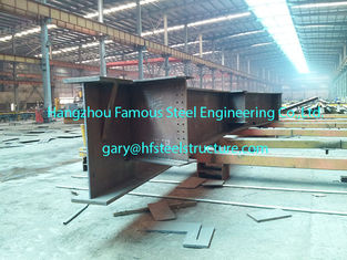 China Customized Industrial Prefabricated Steel Buildings W Shape Steel Rafters supplier