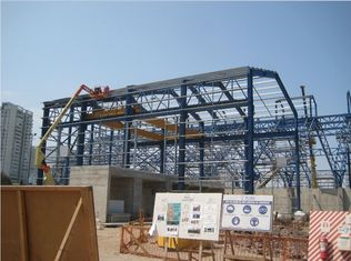China PEB Industrial Steel Framed Buildings Easy Erection For Mining Storage supplier