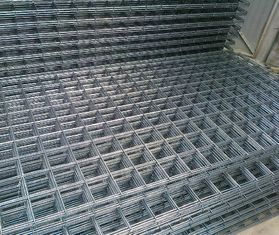 China Prefab Steel Frame Building Kits Ribbed Seismic 500E Rears Square Mesh Size 6m X 2.4m supplier