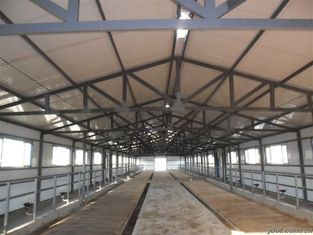 China Durable Prefabricated Steel Framing Cow / Horse Systems With Flexible High Space Utilization supplier