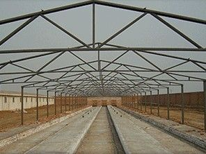 China Noiseproof Insulation Chicken Shed Framing Systems Light Steel Frame Sandwich Panel supplier