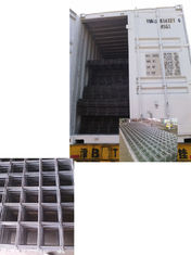 China Prefab 6m × 2.4m Reinforcing Steel Rebar HRB 500E Square Mesh supplier