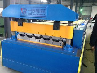 China Galvanized Corrugated roll forming machine / Double Layer Roll Forming Machine supplier