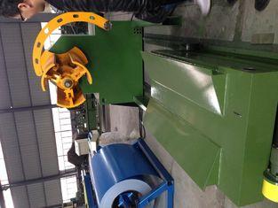 China Q235 Steel Roll Forming Machine Rolling Shutter Slats C Z Purlin supplier