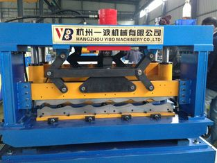 China Manual Cold Roll Forming Machine , Roof Panel Roll Forming Machine supplier