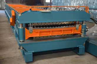 China 13KW Sheet Metal Roof Panel Roll Forming Machine CNC Servo supplier
