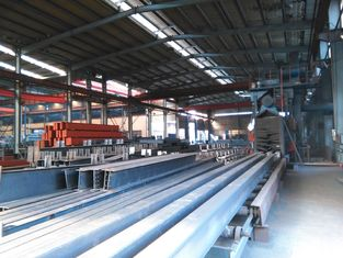 China Prefabricated Warehouse Curved Roof Industrial Structural Steel Shed supplier