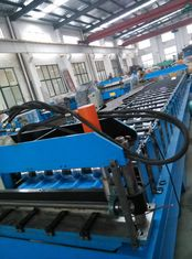 China Steel Sheet Corrugated Roll Forming Machine Solar Panel For Construction supplier