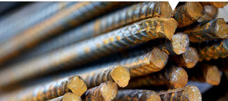 China Pre-engineered Steel Kit Reinforcing Bars With Compressive Seismic Strengh supplier