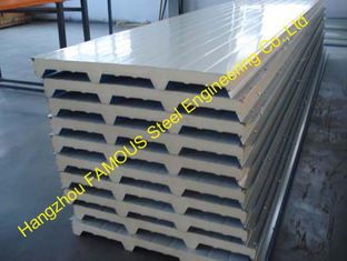 China Cold Room Corrugated EPS Sandwich Metal Roofing Sheets Wall Panels supplier
