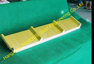 China Light Weight Construction EPS Sandwich Panels Roofing For Cold Room supplier