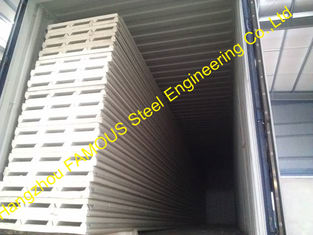 China Roofing Insulated Sandwich Panels / Perforated Metal Sheets Fireproof supplier