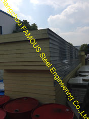China Structural Insulated Sandwich Panels , Wall And Roof PU Panels supplier