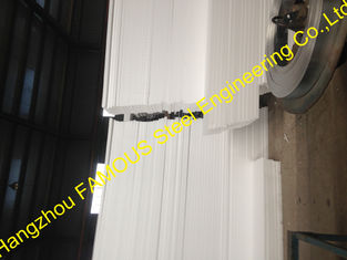 China Glass Wool Insulated Sandwich Panels For Prefabricated House supplier