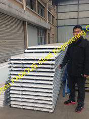 China Structural Insulated Sandwich Panels EPS 100mm Environmental supplier