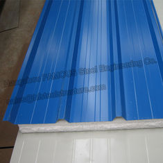 China Metal EPS Insulated Sandwich Panels House Sandwich Panel Roofing supplier