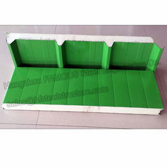 China Durable Corrugated PU Roofing Panels Thermal Insulation Windproof supplier