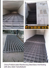 China Reinforcing Steel Bar Welded Steel Mesh supplier