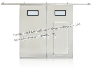 China Industry Sliding Door  Steel Workshop And Warehouse supplier