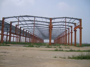 China Custom Lightweight, Rigid, Structural Steel And Fabricated Pre-Engineered Building supplier