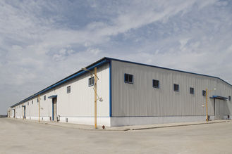 China Custom Precision Metal Steel Versatility Pre-Engineered Building With Clearspan Design supplier