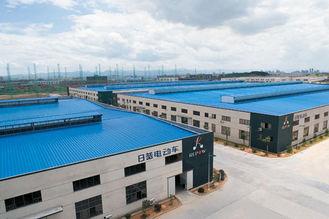 China OEM Prefabricated Steel Shed Storage, Shearing, Sawing, Grinding Pre-engineered Building supplier
