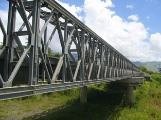 China Electric Galvanized, Painting and Grinding prefabricated Structural Steel Bailey Bridge supplier