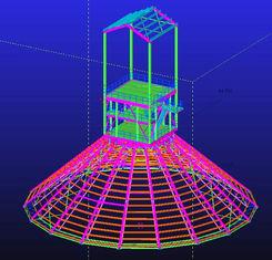 China Custom Hot Dip Galvanized, Waterproof, Prefabricated Steel Structural Engineering Designs supplier