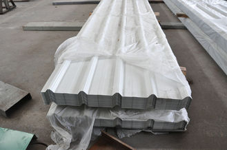 China Welding, Braking, Rolling And Hot Dip Galvanized, Painting Metal Roofing Sheets System supplier