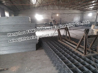 China Concrete Steel Reinforcing Mesh Build Industrial Shed Slabs AS/NZS-4671 supplier