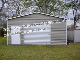 China Pre Engineered Steel Buildings Structure Car and RV Garage for Parking supplier
