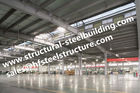 China Steel Frame Buildings For Turn - Key Project  , Q345 Steel Frame Construction Workshop factory