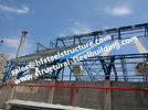 China Fabricated Industrial Steel Buildings Structures Stairs Roofing For Structural Steel Warehouse Construction Project factory