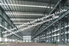 China Fabricated Steel Industrial Steel Buildings with Galvanized steel Surface treatment factory
