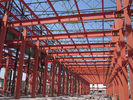 China PEB-Industrial Steel Buildings Fabrication By Kinds Of Shape Steel factory