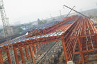 China Industrial Shed Pre Industrial Steel Buildings By PKPM , 3D3S , X-steel factory