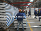 China Corrugated Steel Roofing Sheet Metal Roofing Sheets Sandwich Panel EPS PU Rock Wool factory