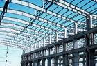 China Q345 Pre Engineered Light Weight Metal Industrial Steel Buildings / Workshop factory