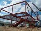 China Steel Workshop / Warehouse Structural Steel Fabrications Multifunctional Double Span factory